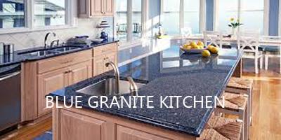 Blue Granite Kitchen