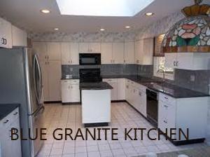 Blue granite Kitchen 2