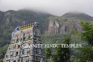 Granite Hindu Temples.