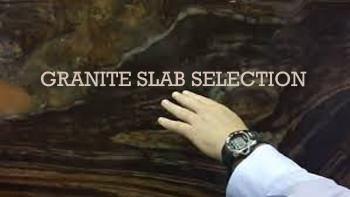 Granite Slab Selection 4