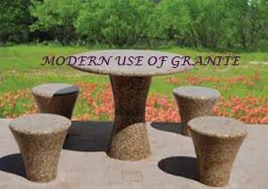 Modern use of Granite 2