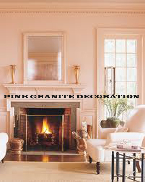 Pink color granite