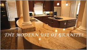 The Modern use of Granites