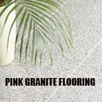pink granite flooring