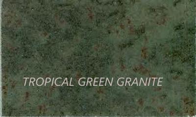 Charmant Description Of Tropical Green Granite