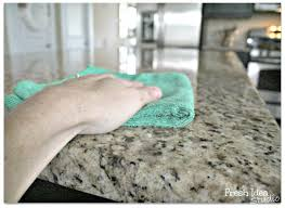 cleaning of Apple Green Granite 2