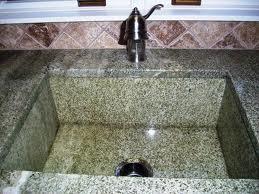 green granite sinks